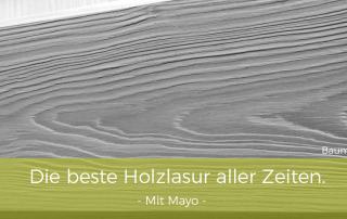 Holzlasur-Eitempera