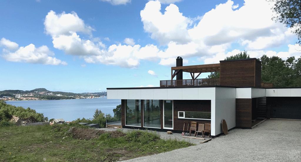 Architektenhaus am Meer