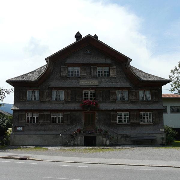 Symmetrische Fassade